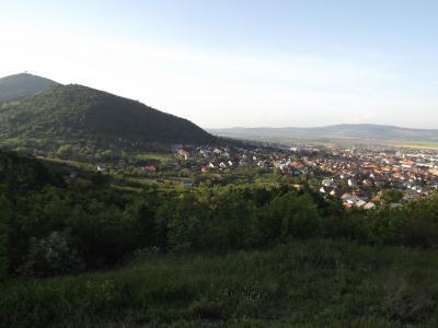 Sátoraljaújhely a Kopaszka-hegyről 1.